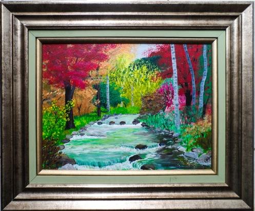 The River 27x35 cm $10,000