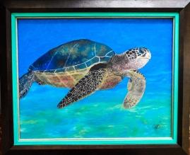 Turtle 40x50 cm $12,000