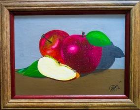 Apples 27x35 cm $9,000