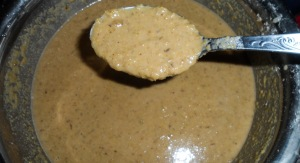 Sweet potato pudding mix