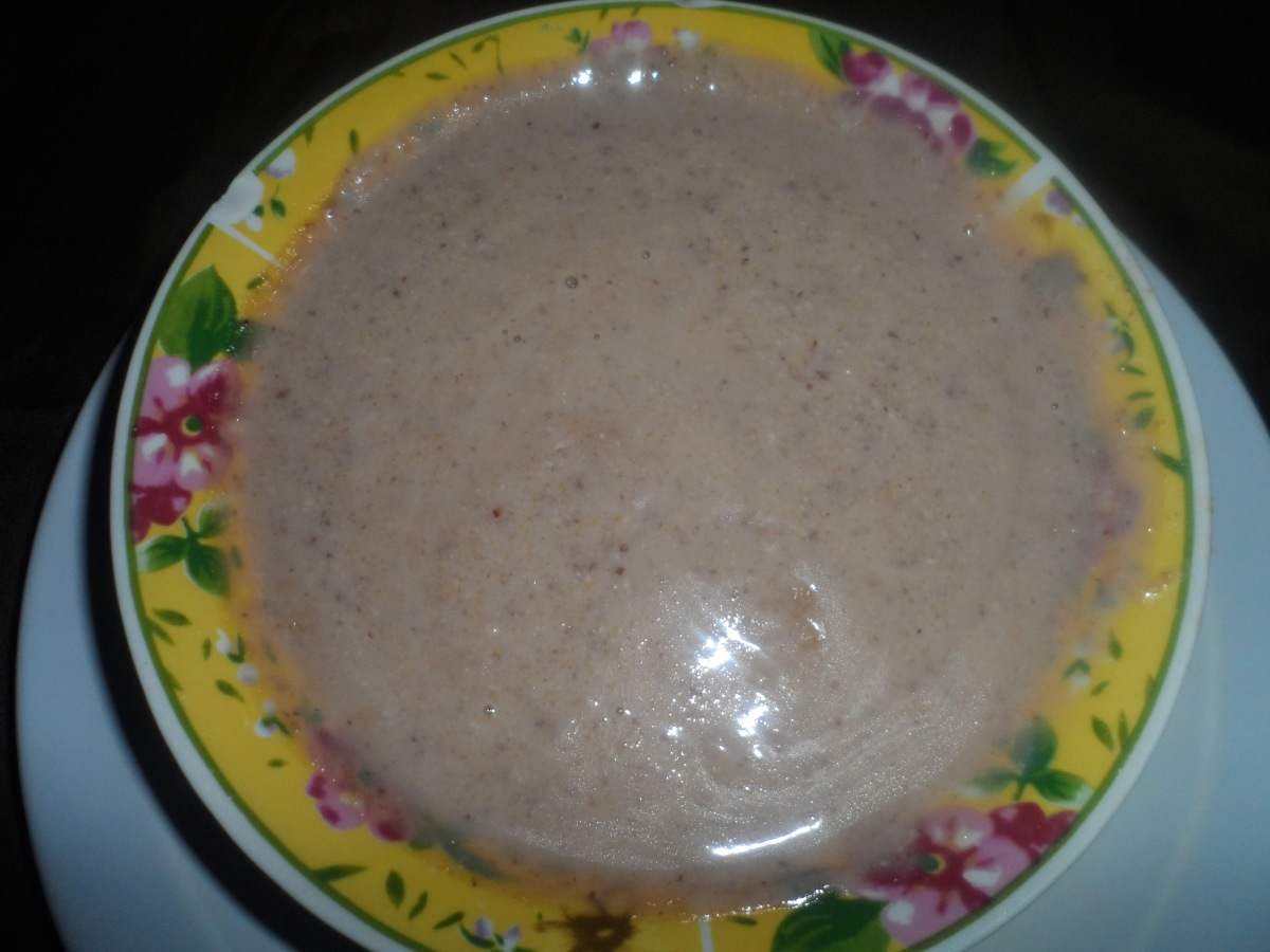 Jamaican Peanut Porridge Recipe