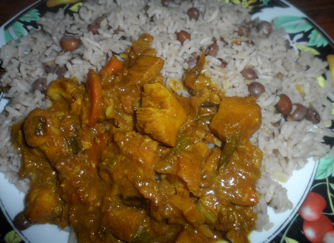 Curried Snapper Fillet Recipe