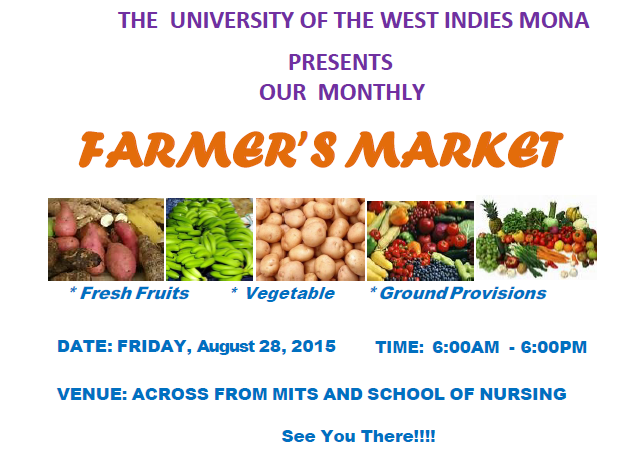 The University Of The West Indies Supports Farmers