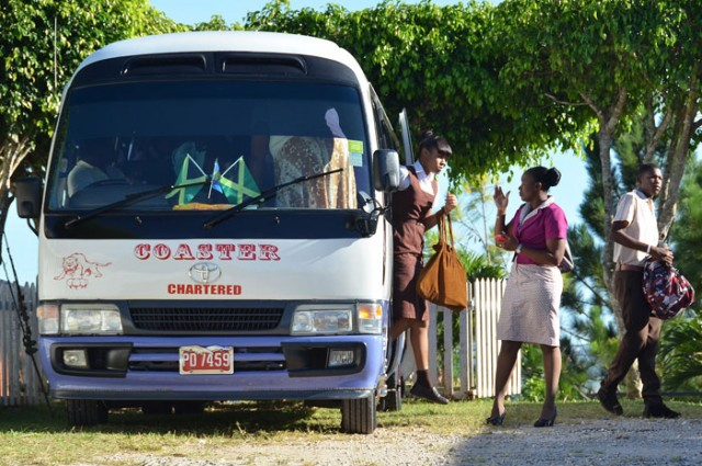 Jamaican Bus Conductors