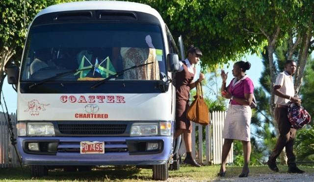 Jamaican Bus Conductors