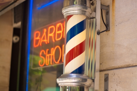 barber-shop pole