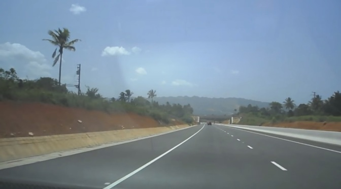 Driving in Jamaica – Washington Boulevard To St. Ann Via Mount Rosser And The New Highway